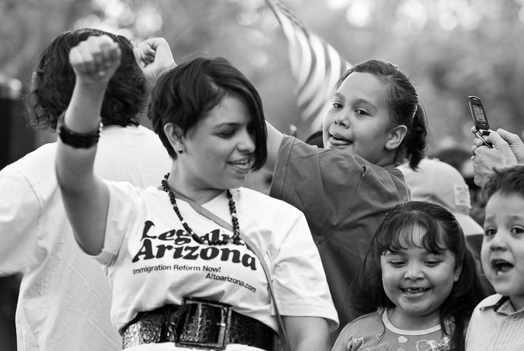 May Day, 2010 - State Capitol Building, Phoenix Arizona