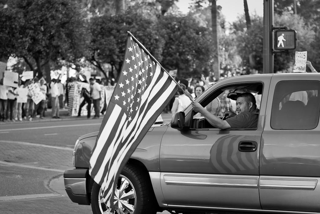May Day, 2010 - State Capitol Building, Phoenix Arizona